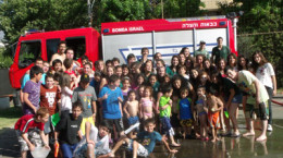 Bomba Israel visita a Tikva