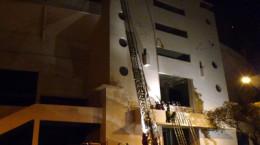 Ejercicio de Bomba Israel en conjunto con Segunda Compañía del Cuerpo de Bomberos de Ñuñoa