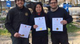 Voluntarios de Bomba Israel aprueban curso BREC 2017